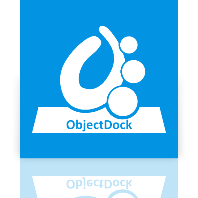 mirror, objectdock icon