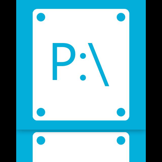 mirror, p icon