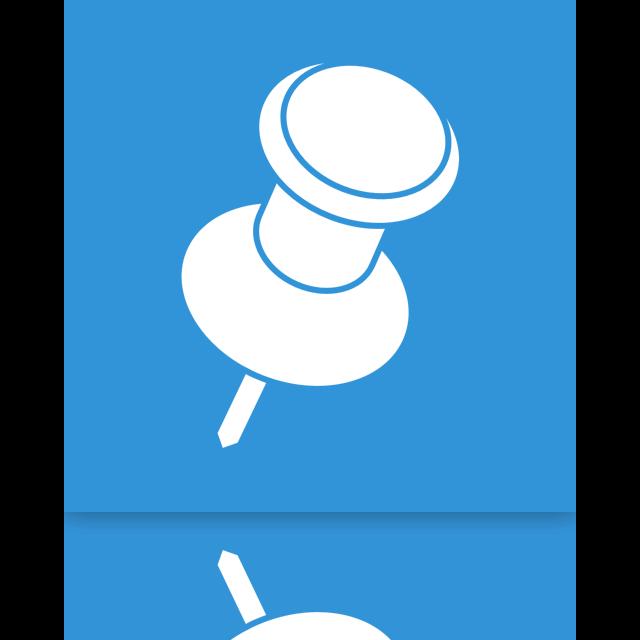 mirror, pin