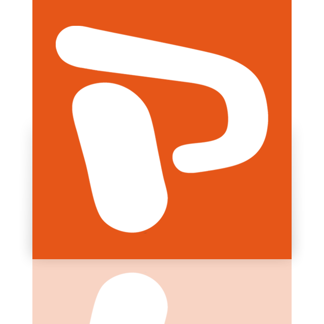mirror, powerpoint icon