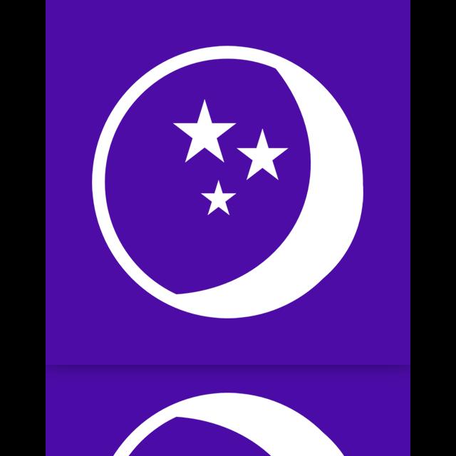 mirror, power, sleep icon