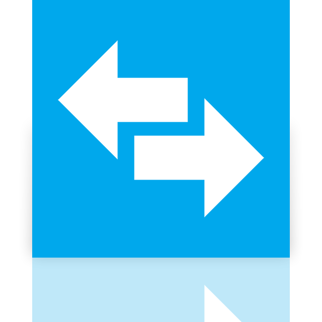 mirror, power, switch icon
