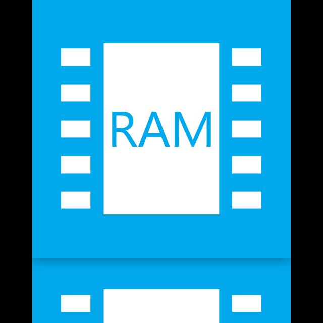 mirror, ram icon