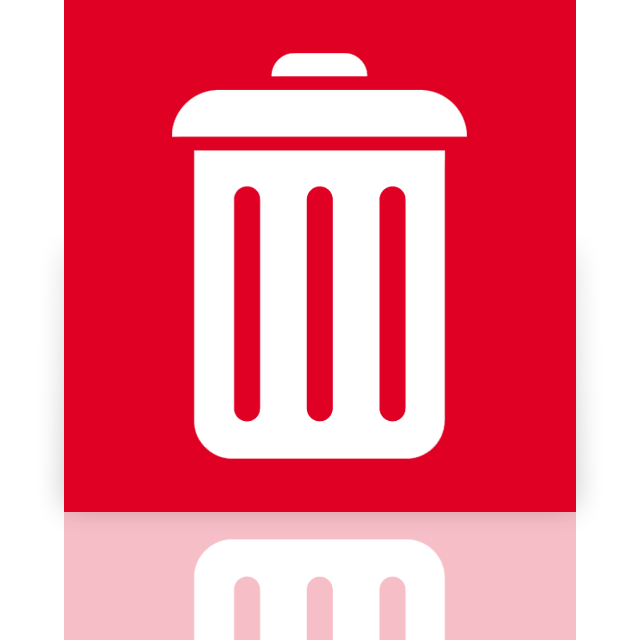 bin, full, mirror, recycle icon