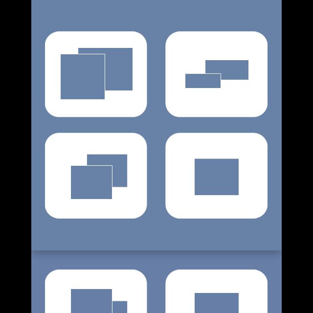 mirror, spaces icon