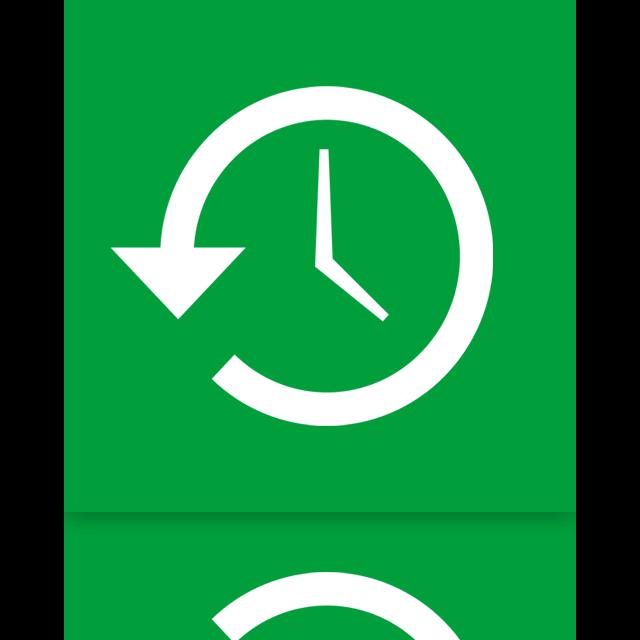 mirror, restore, system icon