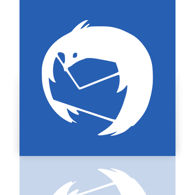mirror, thunderbird icon