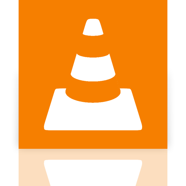 media, mirror, player, vlc icon