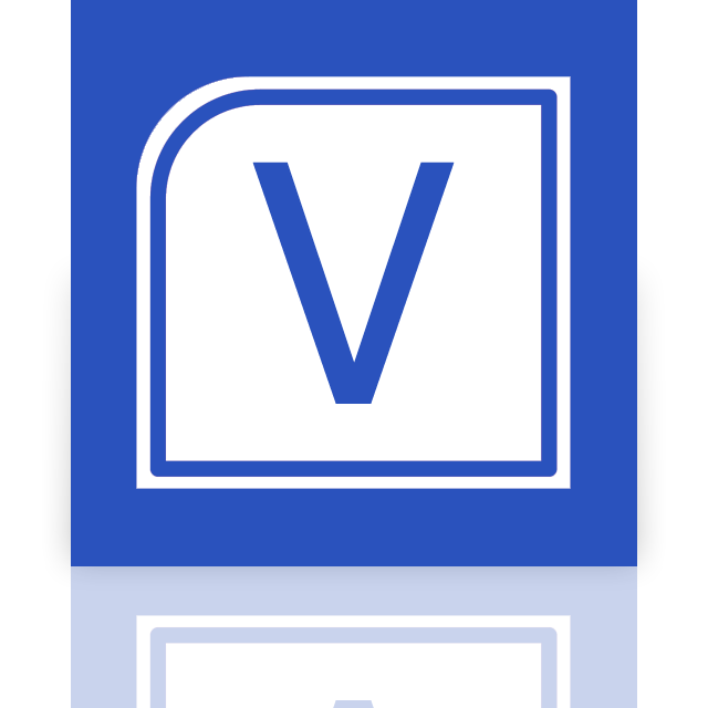 mirror, visio icon