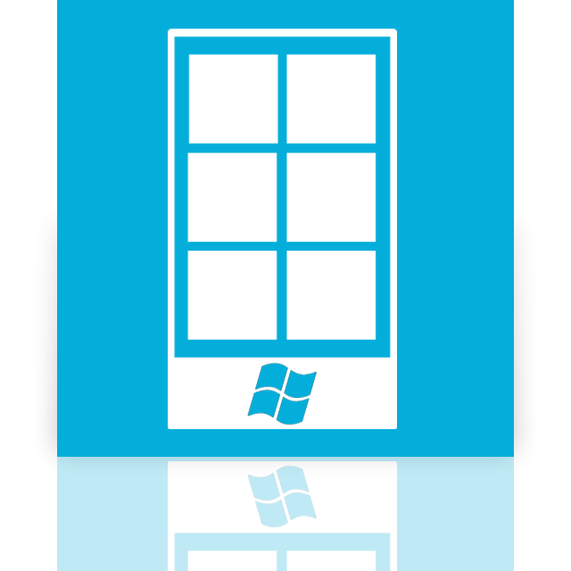 mirror, phone, windows icon