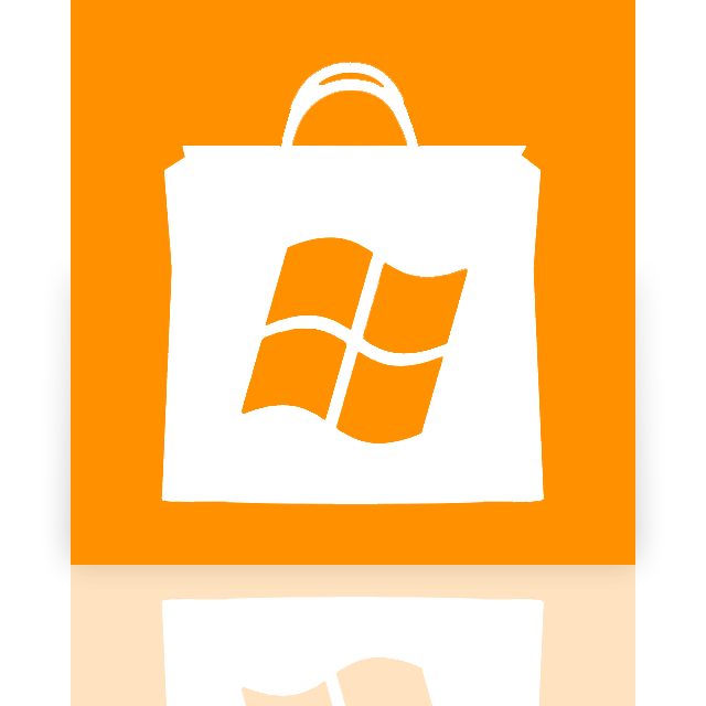 mirror, store, windows icon