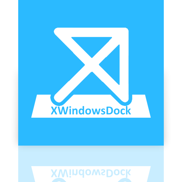 dock, mirror, xwindows icon