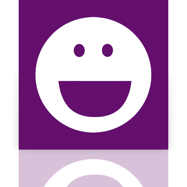 messenger, mirror, yahoo icon