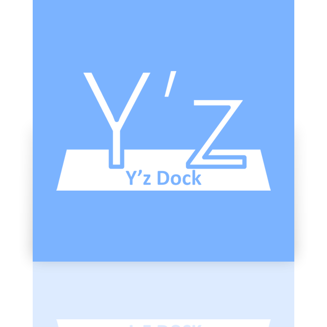 dock, mirror, yz icon