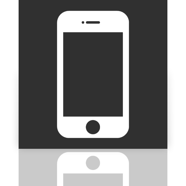 iphone, mirror icon