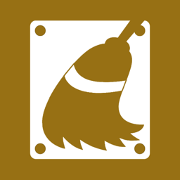 cleanup, disk icon