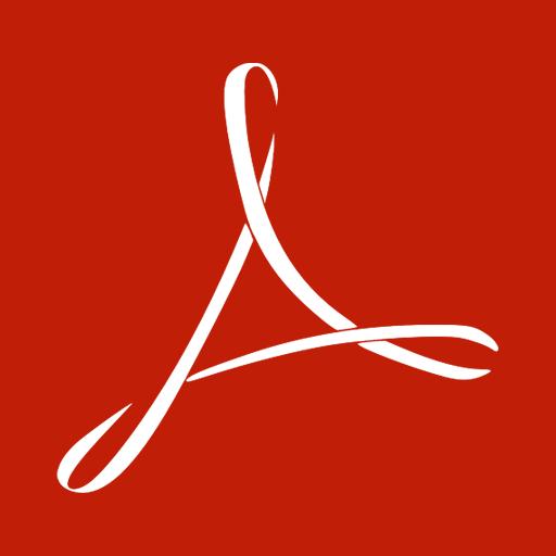 acrobat, adobe, reader icon