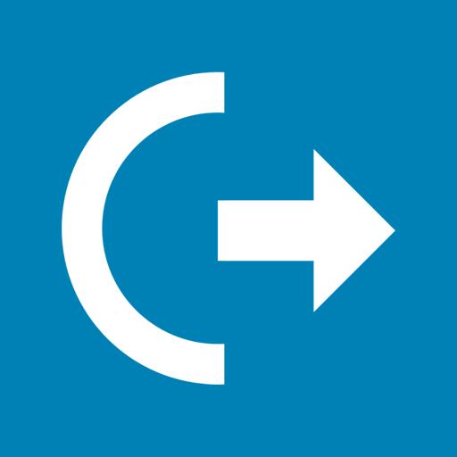 log, off, power icon
