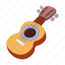 acoustic, cartoon, guitar, instrument, mexican, music, sound icon