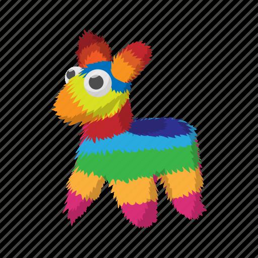 animal, cartoon, donkey, drawing, horse, mexico, mule icon