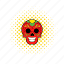comics, death, latin, mexican, mexico, skeleton, skull icon
