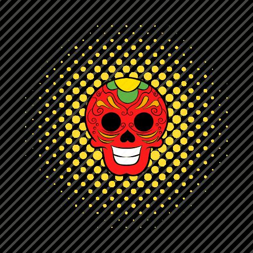 comics, death, latin, mexican, mexico, skeleton, skull icon