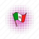 comics, country, flag, mexico, national, patriotic, patriotism icon