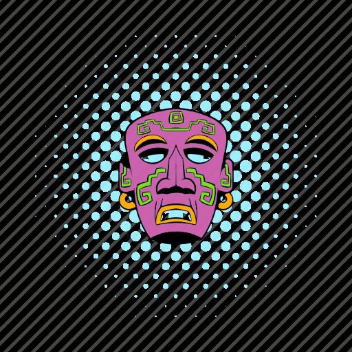 comics, culture, face, head, mask, mexican, mexico icon