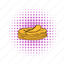 comics, corn, food, stack, taco, tortilla, wrap icon