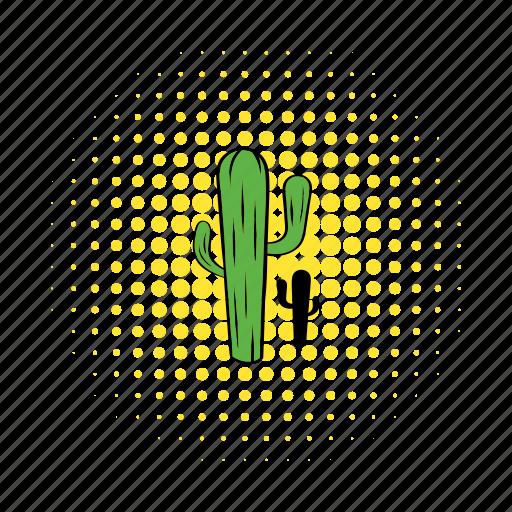cactus, comics, desert, mexican, west, western, wild icon