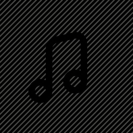 guitar, instrument, instrumental, music, note, notes, sound icon