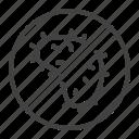 anti, antibacterial, bacteria, microbe, resistance icon