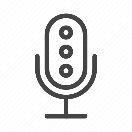 audio, media, mic, microphone, multimedia, music, sound icon