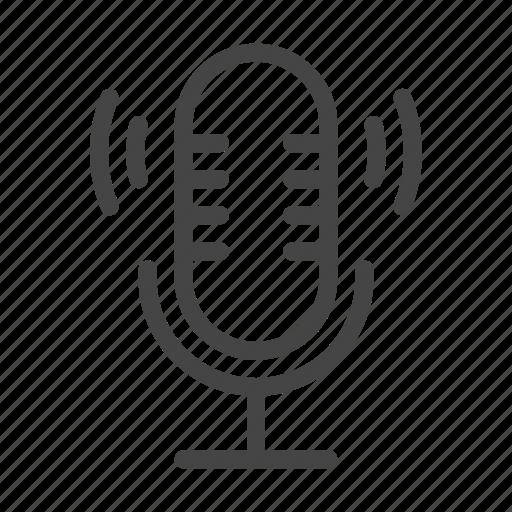 audio, mic, microphone, music, record, recording, voice icon