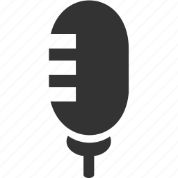 media, microphone, music, sound icon