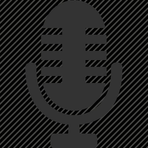 media, microphone, music, sound icon