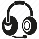 device, electronic, gadget, headphone, mic, music, sound icon