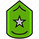 army, battle, grade, level, military, rank, war icon
