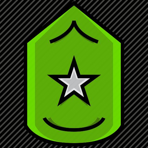 army, battle, grade, level, military, rank, war icon