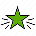 army, asterisk, battle, medal, military, star, war icon