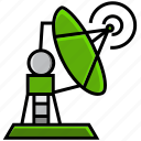 army, battle, connection, military, radar, signal, war icon