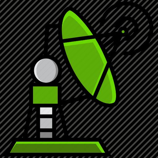 army, battle, connection, military, radar, signal, war icon