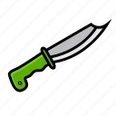 army, battle, knife, military, shank, shiv, war icon