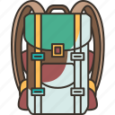 backpack, bag, soldier, army, camping
