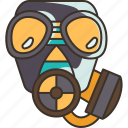 mask, gas, protection, safety, toxic