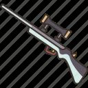 rifle, gun, firearm, weapon, shot