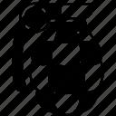 grenade, bomb, attack, explosive, demolition icon