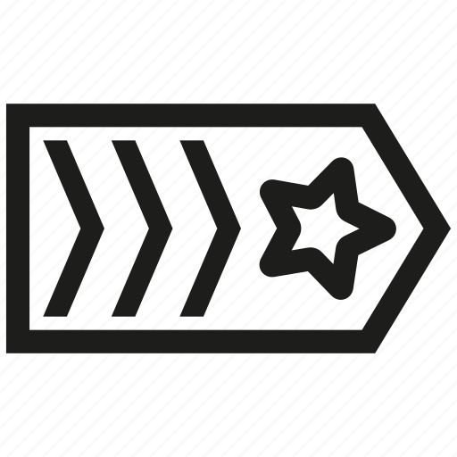 insignia, lieutenant, military, rank icon