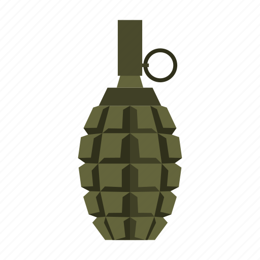 bomb, explosive, grenade, military, soldier, war, weapon icon