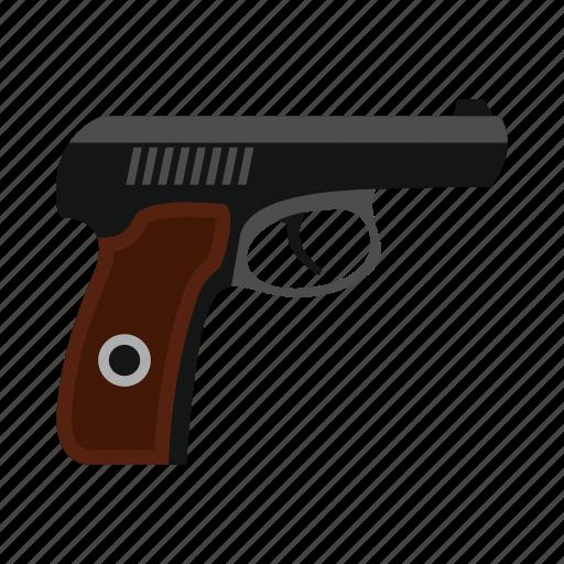 danger, gun, handgun, military, pistol, war, weapon icon